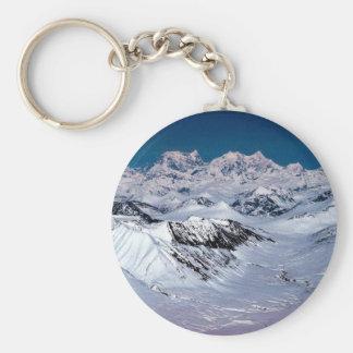 Cordillera de Alaska - visión aérea Llaveros Personalizados