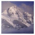 Cordillera de Denali, Alaska Azulejo Cuadrado Grande