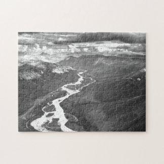 Cordillera de los arroyos, Alaska ártica Puzzle Con Fotos