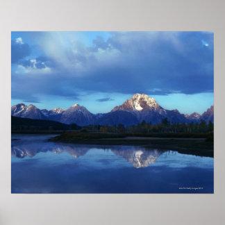 Cordillera magnífica 2 de Teton Póster