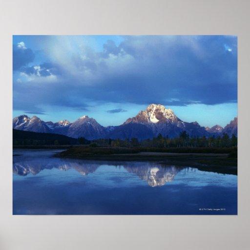 Cordillera magnífica 2 de Teton Poster