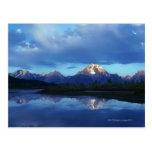Cordillera magnífica 2 de Teton Tarjeta Postal