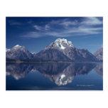 Cordillera magnífica de Teton Postal