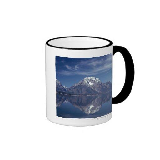 Cordillera magnífica de Teton Taza A Dos Colores