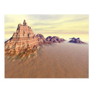Cordillera magnífica tarjeta postal