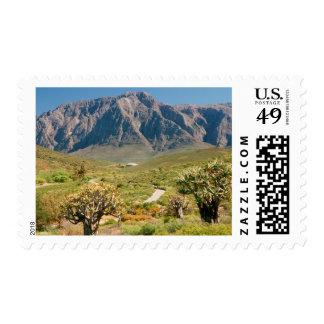 Cordillera, reserva de naturaleza de Worcester Sello Postal