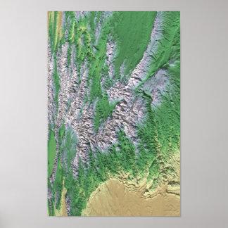 Cordilleras de Colorado Poster
