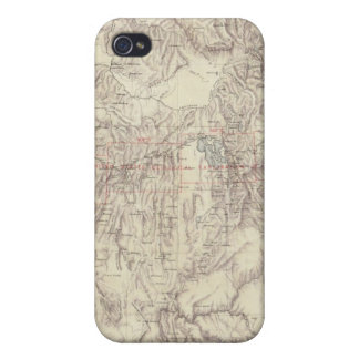 Cordilleras iPhone 4/4S Carcasa