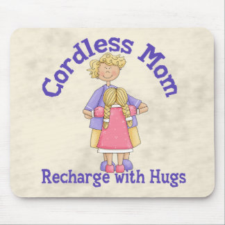Cordless Mom Mouse Pad