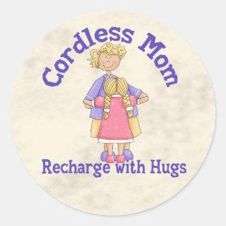 Cordless Mom Sticker