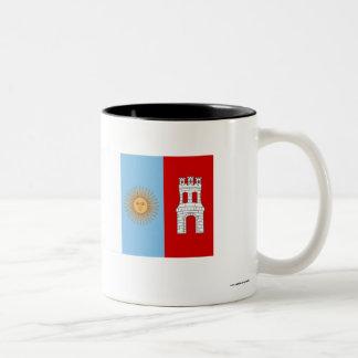 Córdoba flag Two-Tone coffee mug