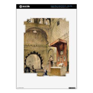 Córdoba: Monje que ruega en un altar cristiano en iPad 3 Pegatinas Skins