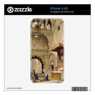 Córdoba: Monje que ruega en un altar cristiano en iPhone 4 Calcomanías