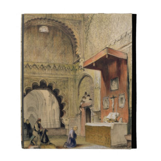 Cordoba: Monk praying at a Christian altar in the iPad Folio Covers