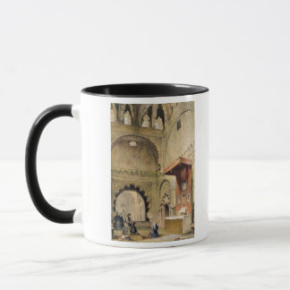 Cordoba: Monk praying at a Christian altar in the Mug