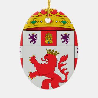 Córdoba (Spain) Coat of Arms Ceramic Ornament