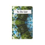 Cordón acuático - azul y verde cuaderno grapado