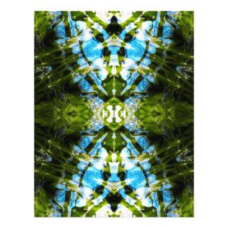 Cordón acuático - azul y verde