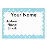 Cordón azul plantillas de tarjetas personales