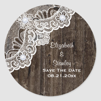 Cordón blanco del vintage, vieja reserva de madera etiquetas