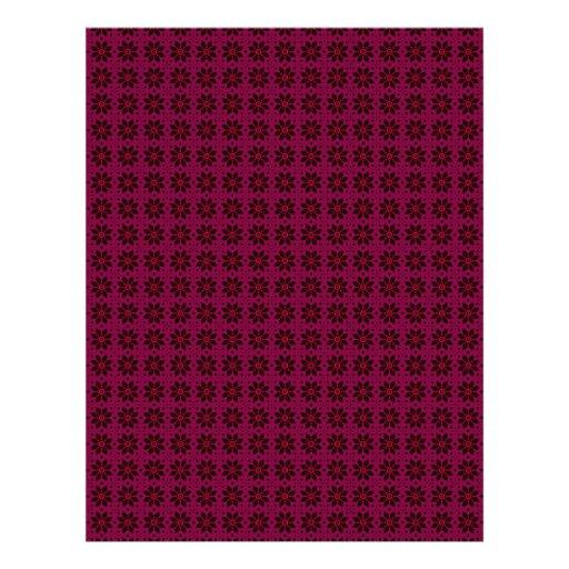 Cordón de Borgoña y páginas del papel del libro de Membrete Personalizado