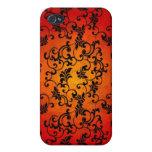 Cordón de Halloween iPhone 4 Carcasas