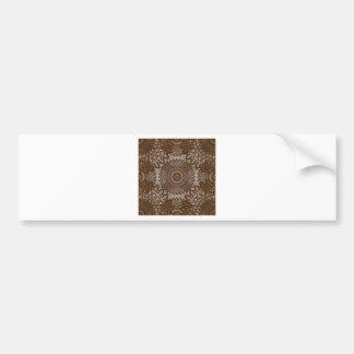 Cordón de la apariencia vintage - caramelo pegatina para auto