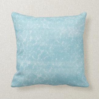 Cordón de la reina Anne azul floral Cojines