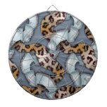 Cordón de n de los leopardos '- azul - tabla dardos