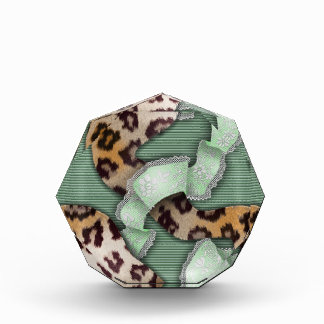 Cordón de n de los leopardos '- verde -