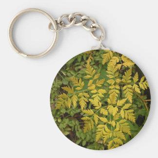 Cordón de oro llavero redondo tipo pin