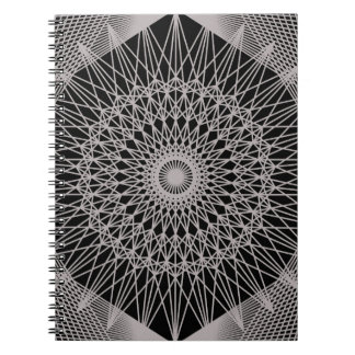 Cordón de plata libretas espirales
