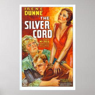 Cordón de plata - poster póster