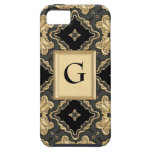Cordón del oro del Viejo Mundo iPhone 5 Case-Mate Cobertura