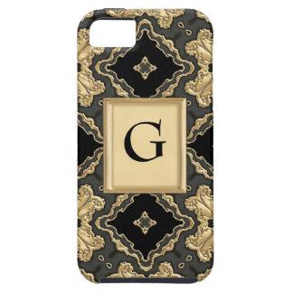 Cordón del oro del Viejo Mundo iPhone 5 Carcasa