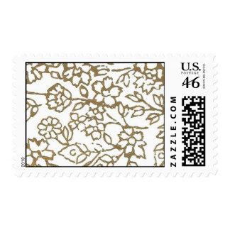 Cordón del vintage (oro) sello