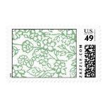 Cordón del vintage (verde) franqueo