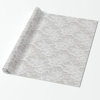 Cordón floral blanco