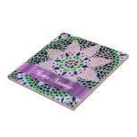 cordón floral bonito tejas  ceramicas