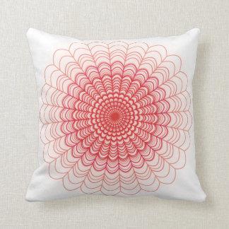 Cordón floral rojo
