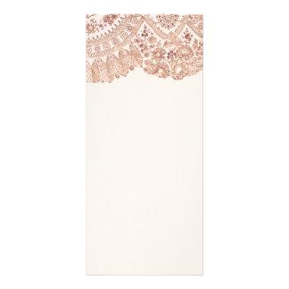 Cordón floral rosado con los rosas plantillas de lonas