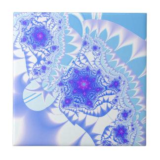 Cordón helado azulejo cuadrado pequeño