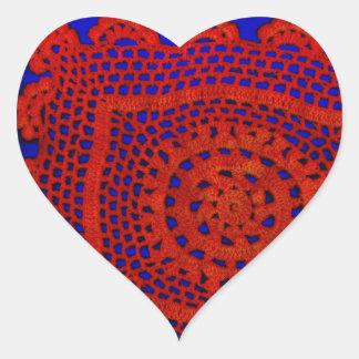 Cordón Pegatina En Forma De Corazón
