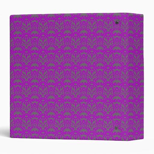 "Cordón púrpura carpeta 1 1/2"""