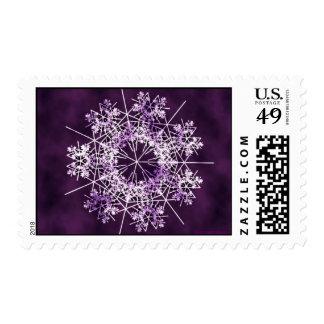 Cordón púrpura sello