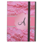 Cordón rosado del monograma