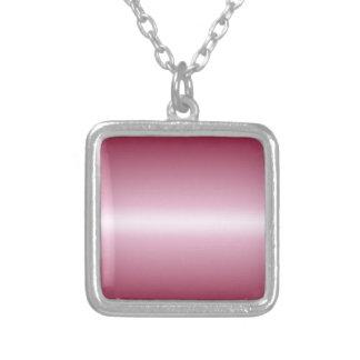 Cordón rosado horizontal y pendiente de Borgoña