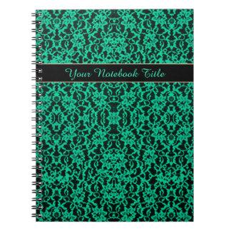 Cordón verde de Kelly del irlandés Libros De Apuntes