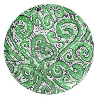 cordón verde platos