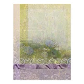 Cordón y luz de la correhuela tarjetas postales